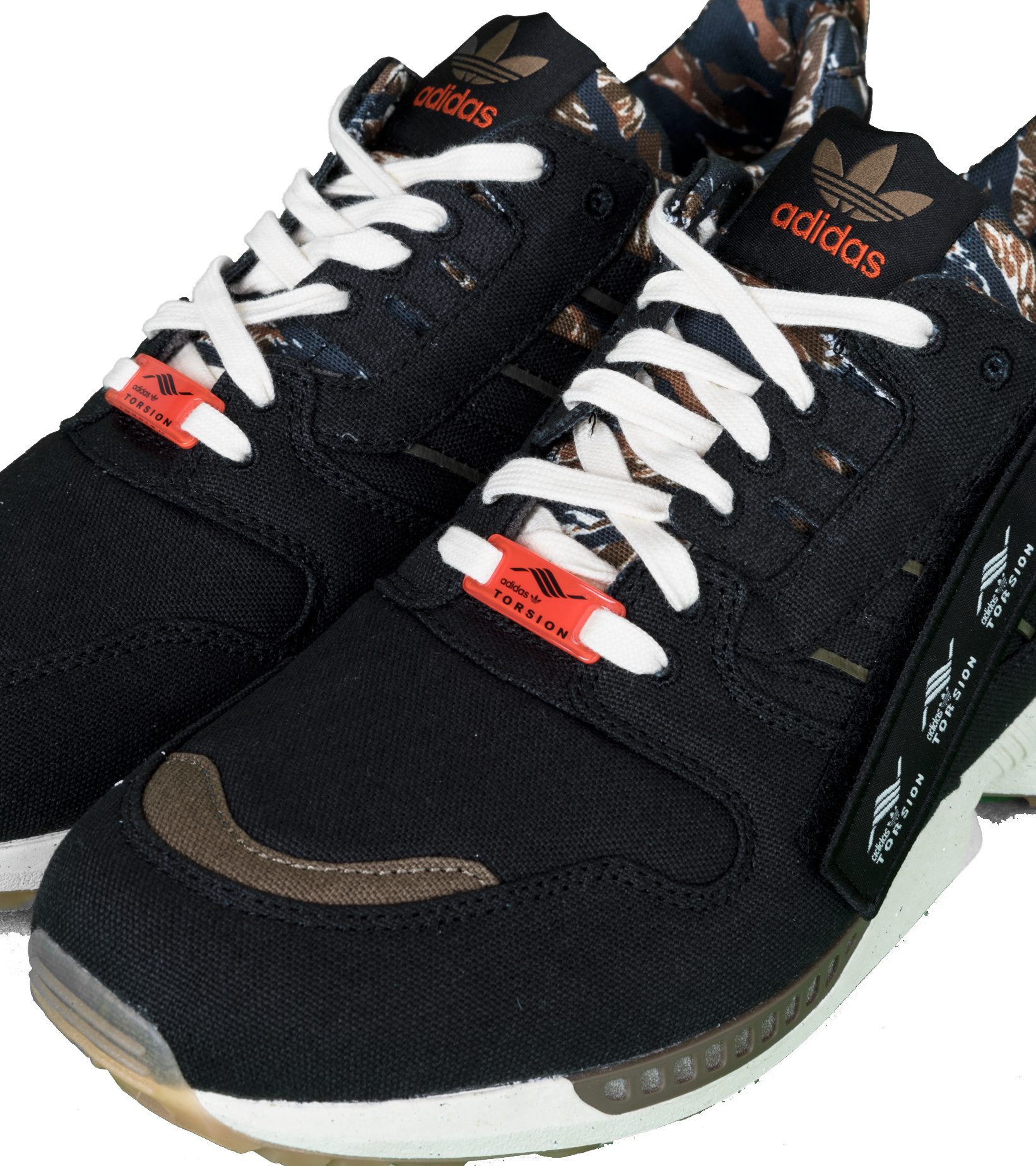 """ZX 8000 Out There """"Black/Orange""""-7"""