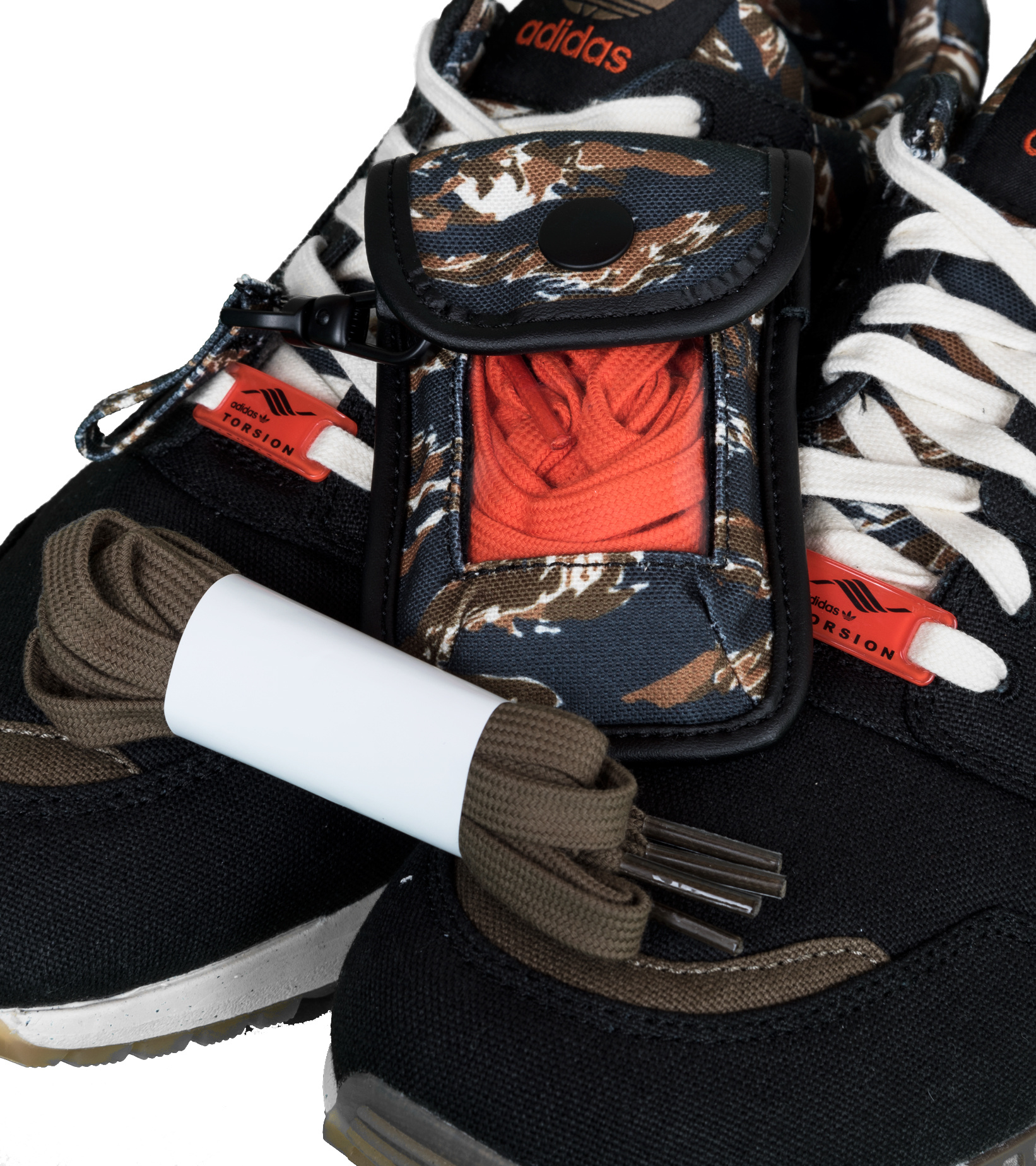 """ZX 8000 Out There """"Black/Orange""""-8"""