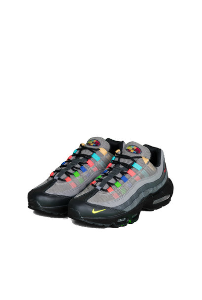 "Air Max 95 EOI ""Light Charcoal/University Red"""
