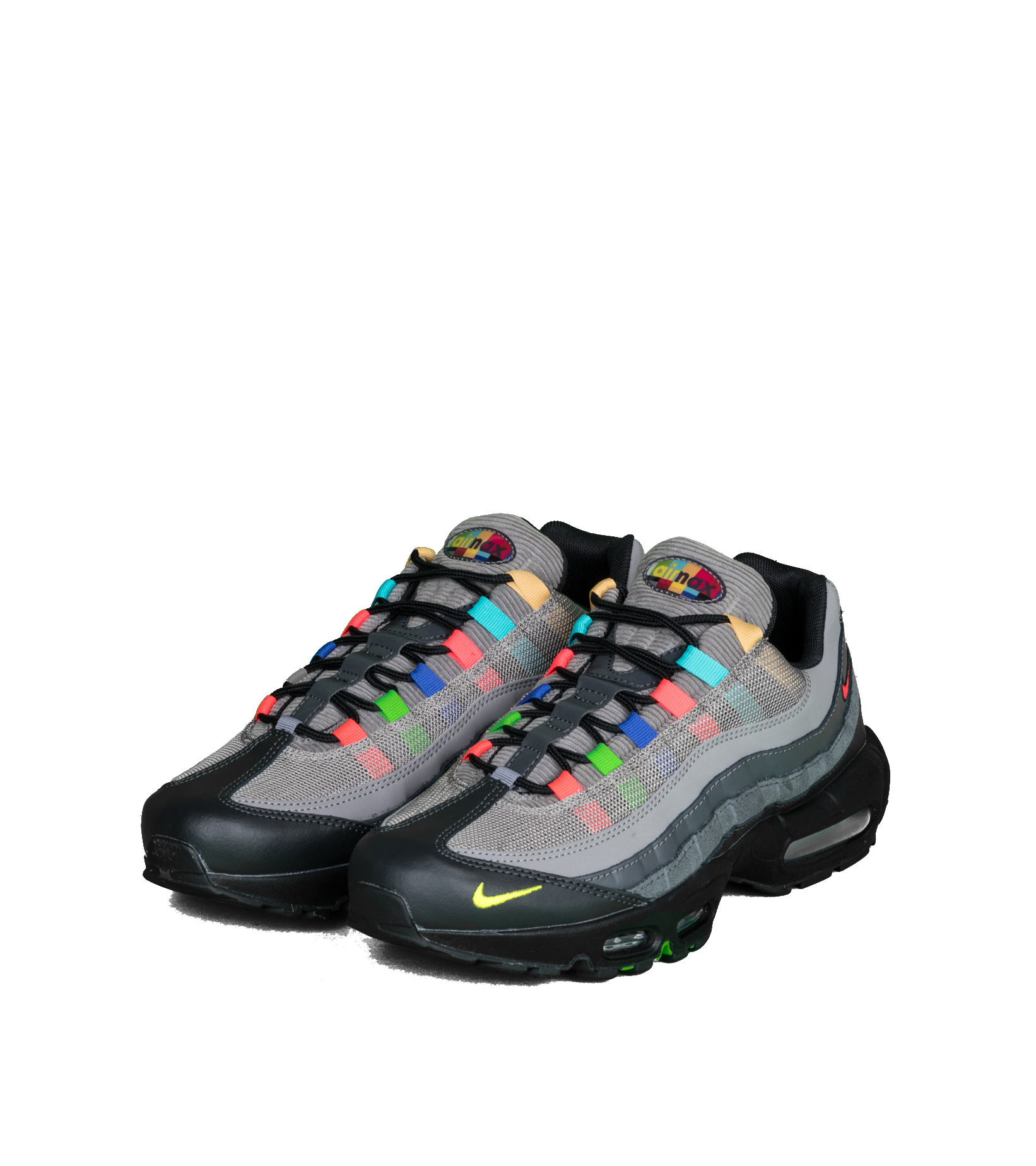 """Air Max 95 EOI """"Light Charcoal/University Red""""-1"""