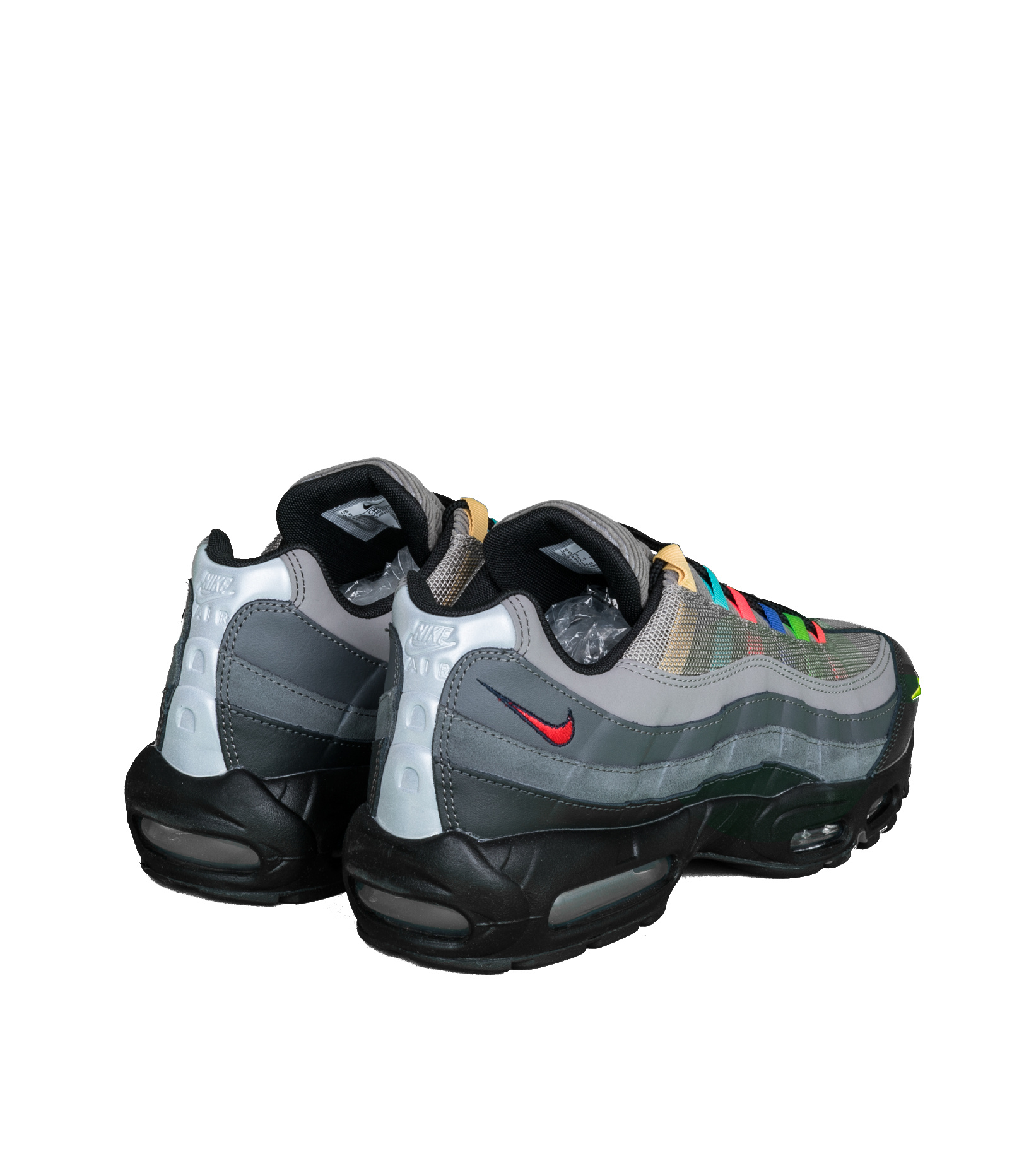 """Air Max 95 EOI """"Light Charcoal/University Red""""-2"""