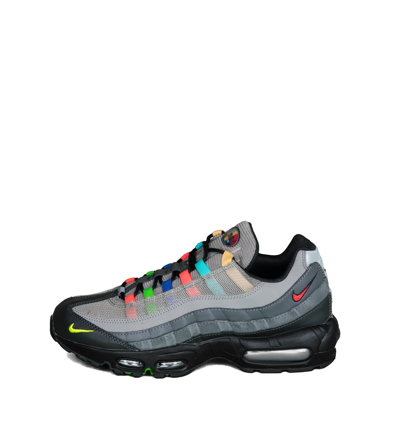 """Air Max 95 EOI """"Light Charcoal/University Red""""-3"""