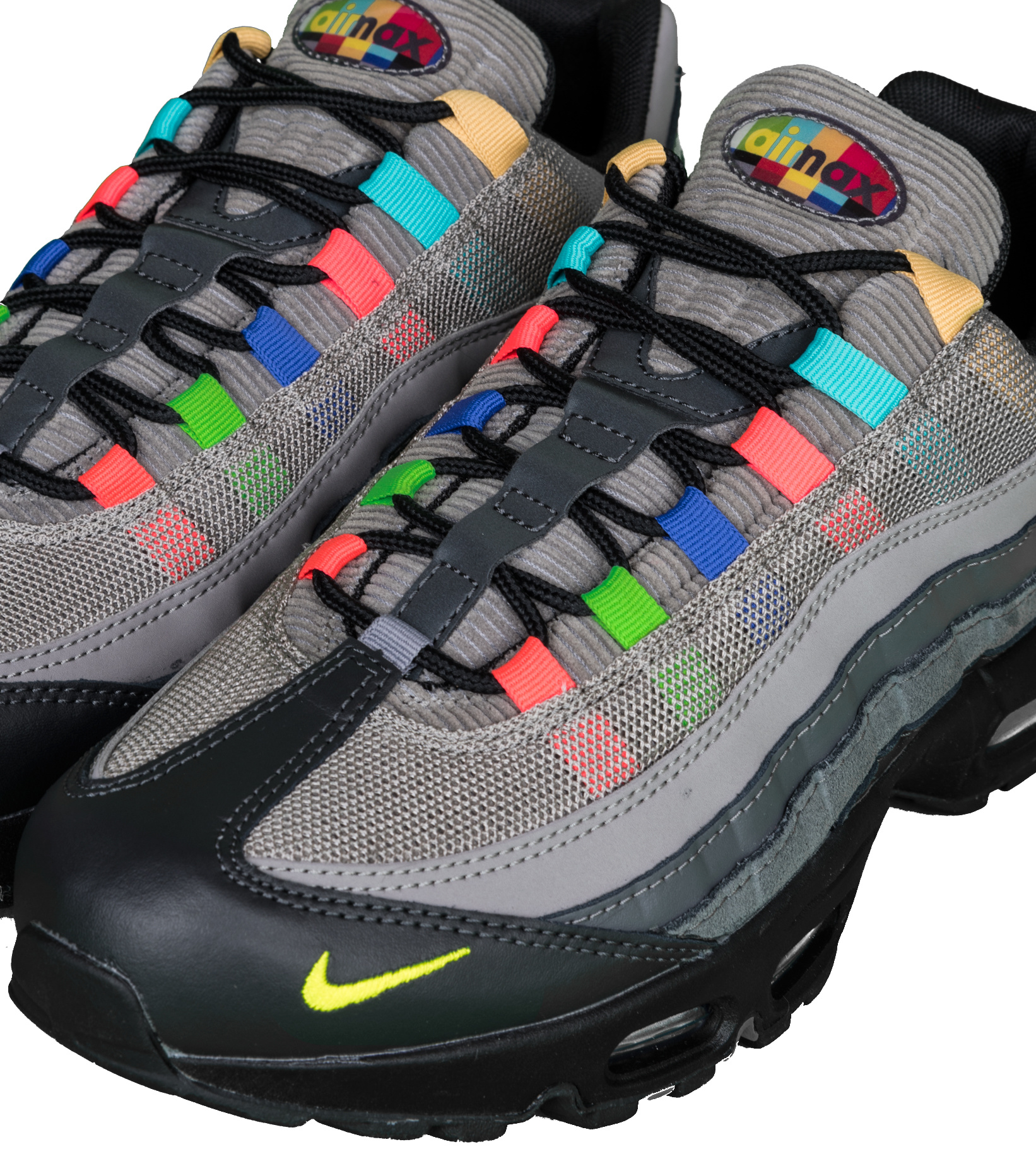 """Air Max 95 EOI """"Light Charcoal/University Red""""-7"""