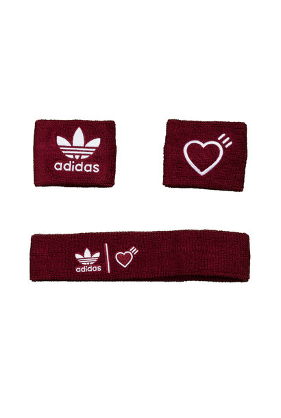 "Sweatbands x Human Made ""Burgundy"""