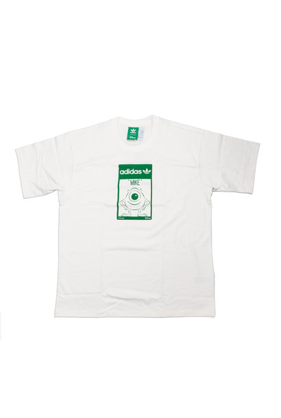"Mike Wazowski Tee ""Cream White/Green"""