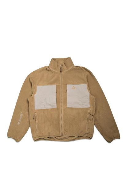 "NRG ACG Polartec Wolf Tree Fleece Sweatshirt ""Golden Beige"""