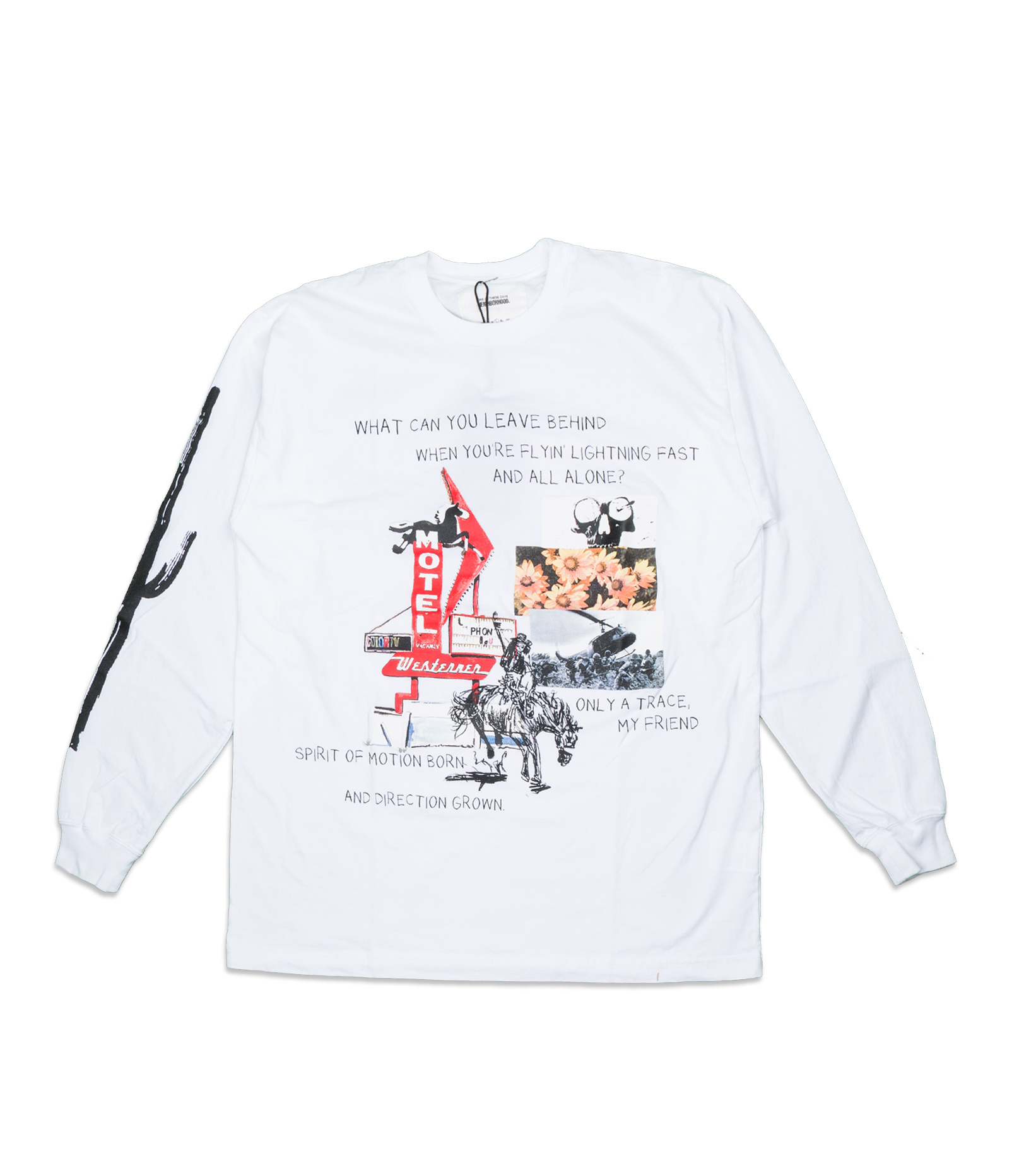 """Graphic LS Tee x One Of These Days """"White""""-1"""