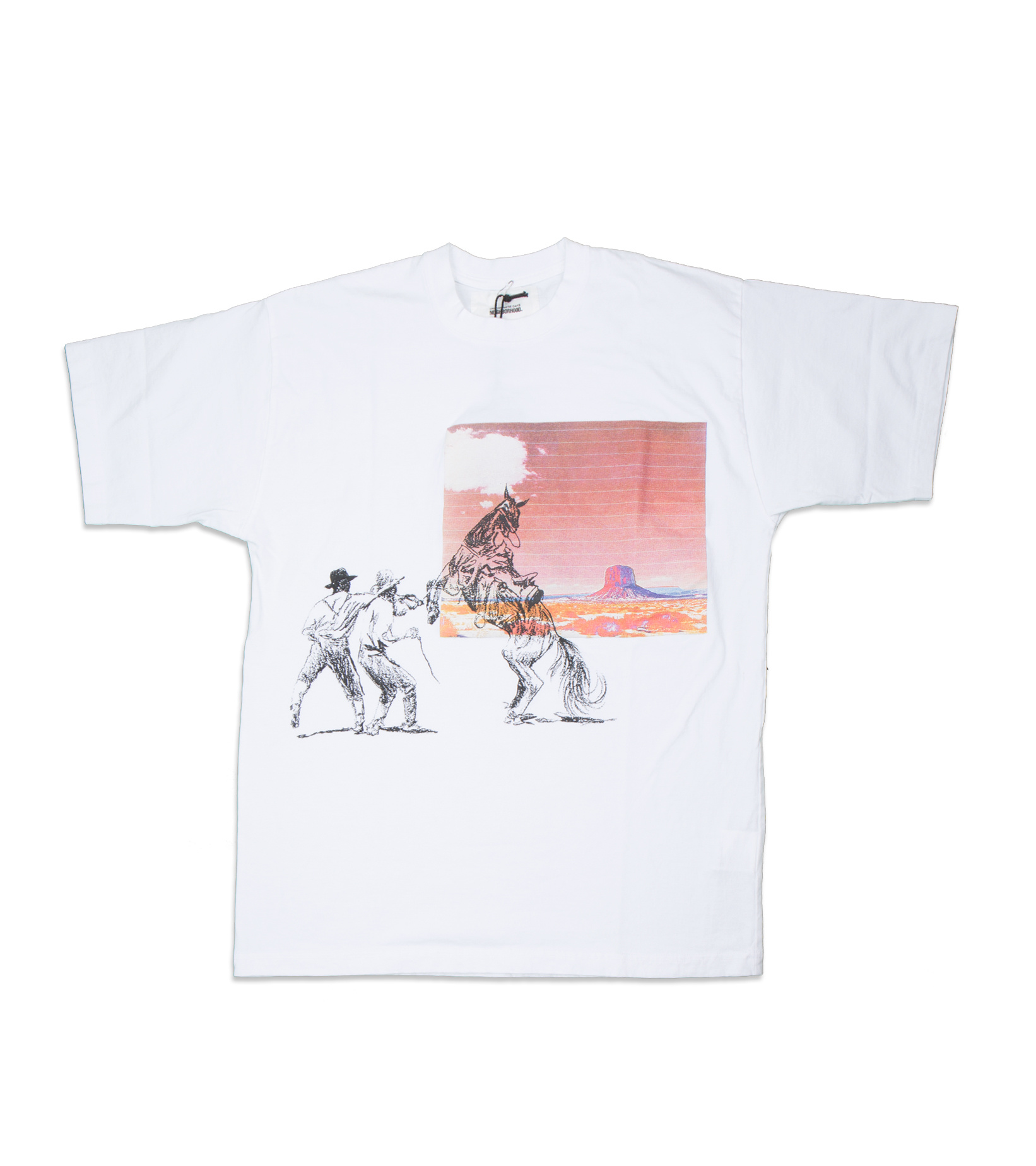 """Graphic Tee x One Of These Days """"White""""-1"""