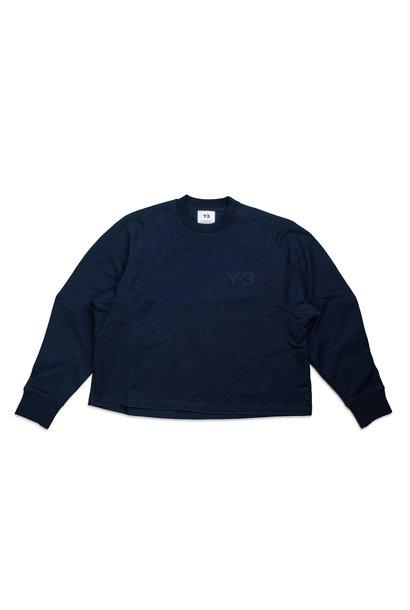 """WMNS Y-3  Chest Logo Sweatshirt """"Collegiate Navy"""""""