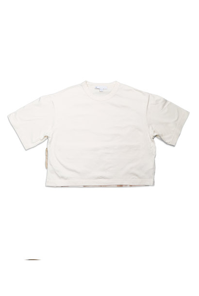 "WMNS Y-3 Shade Raw Graphic Tee ""Undyed"""
