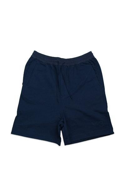 "Y-3 Terry Shorts ""Collegiate Navy"""
