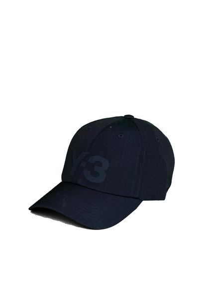 """Y-3 Logo Ripstop Cap """"Legend Ink"""""""