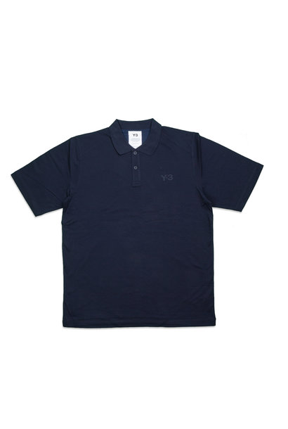 "Y-3 Pique Polo Shirt ""Legend Ink"""