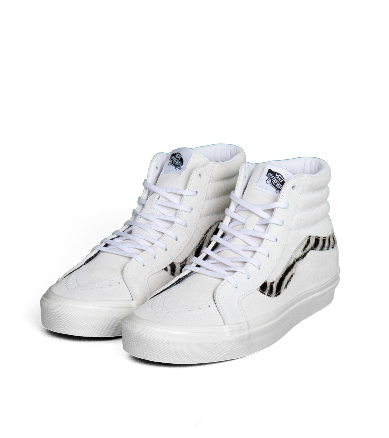 """Sk8-Hi 38 DX (Anaheim Factory) """"True White/Zebra""""-1"""