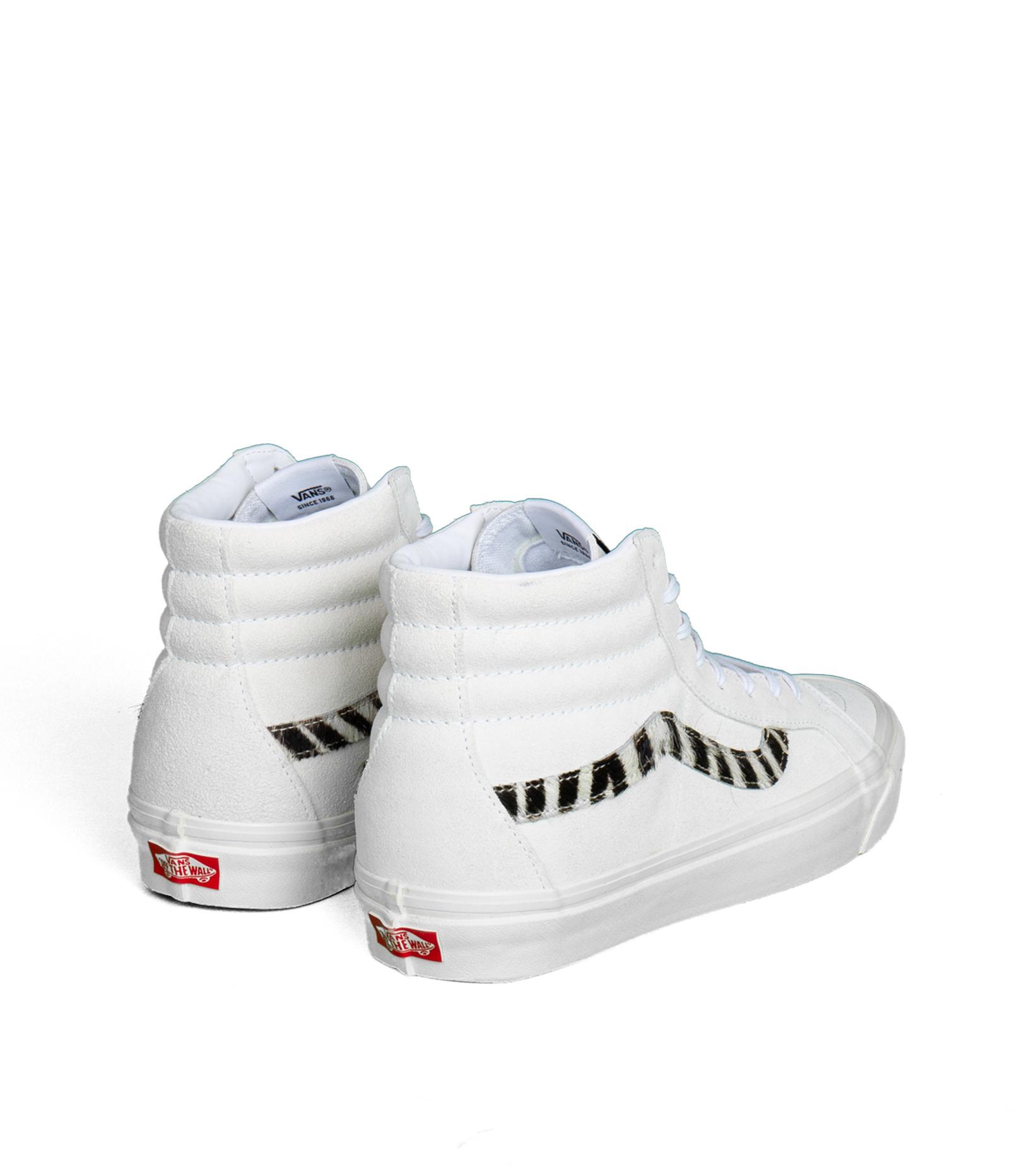 """Sk8-Hi 38 DX (Anaheim Factory) """"True White/Zebra""""-2"""