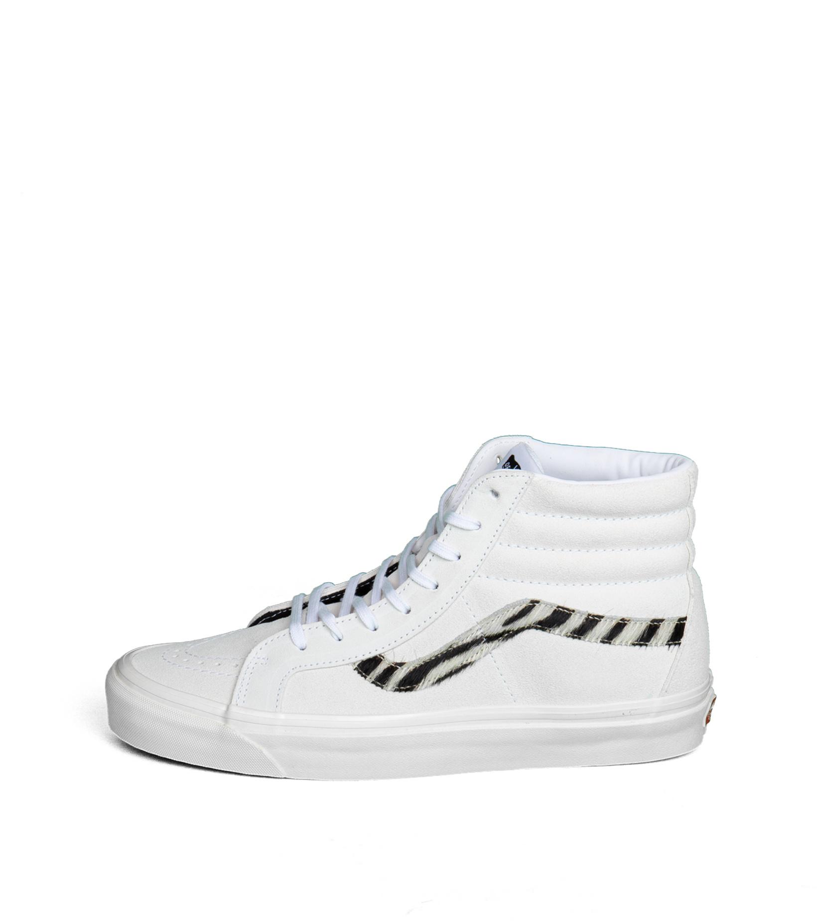 """Sk8-Hi 38 DX (Anaheim Factory) """"True White/Zebra""""-3"""