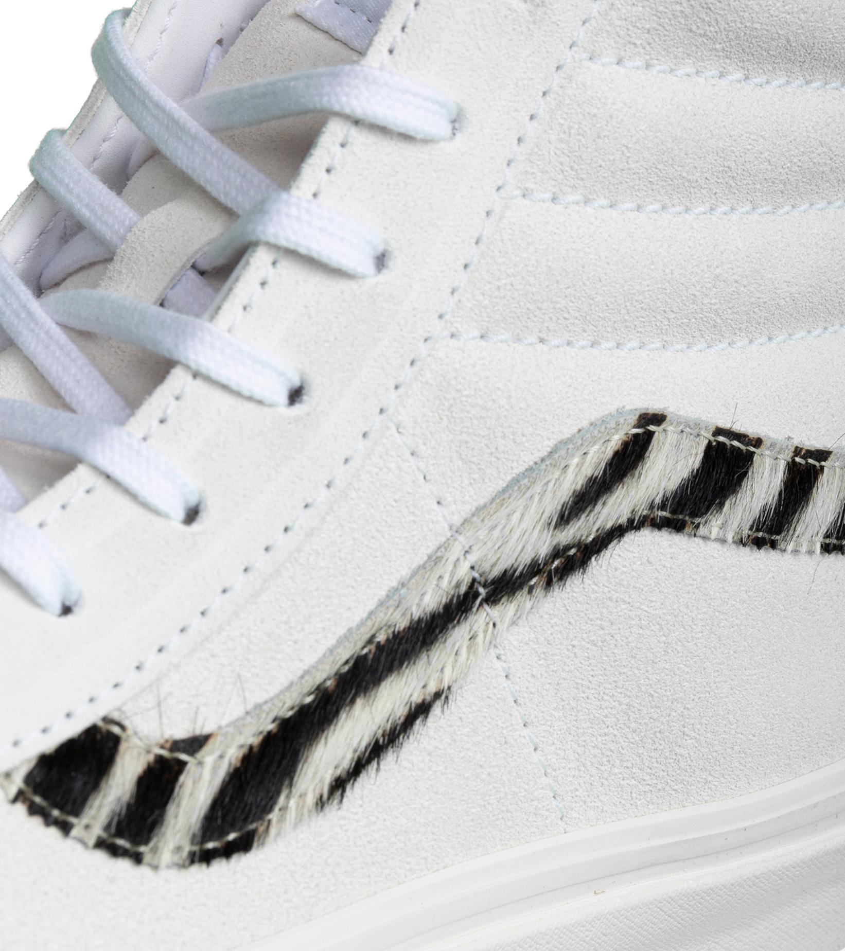 """Sk8-Hi 38 DX (Anaheim Factory) """"True White/Zebra""""-6"""