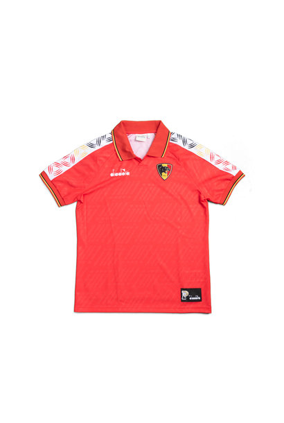 """Panthers Football Shirt """"Red"""""""
