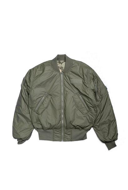 "Parley Bomber Jacket ""Medium Khaki"""