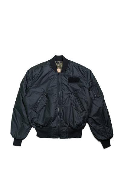 "Parley Bomber Jacket ""Black"""