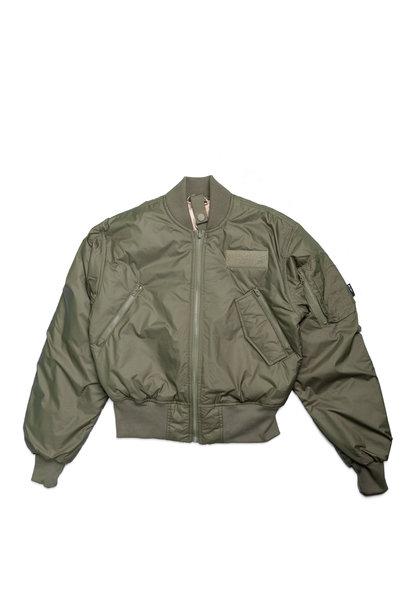 """WMNS Parley Bomber Jacket """"Medium Khaki"""""""
