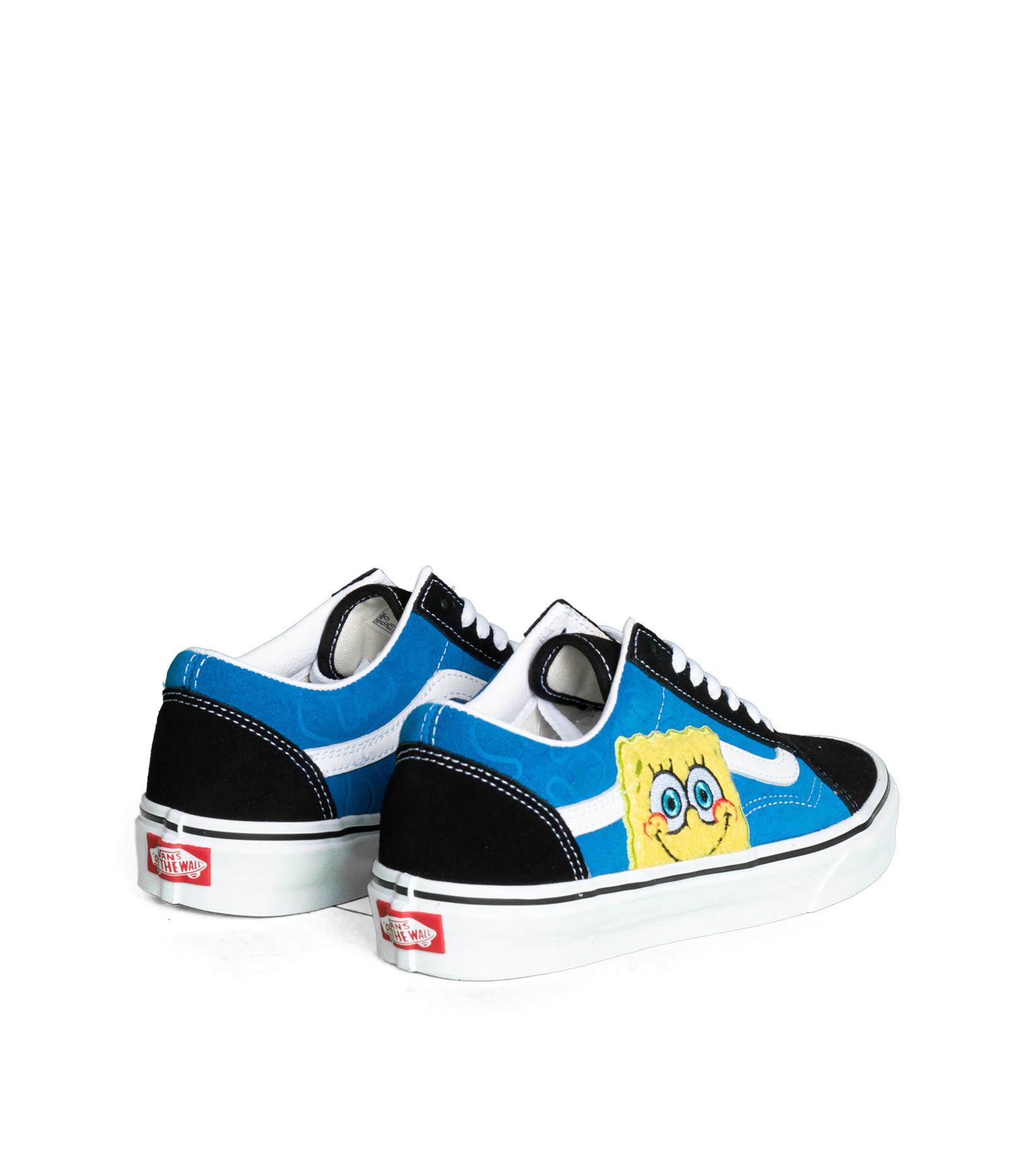 """Old Skool x Spongebob """"Black/Blue""""-2"""