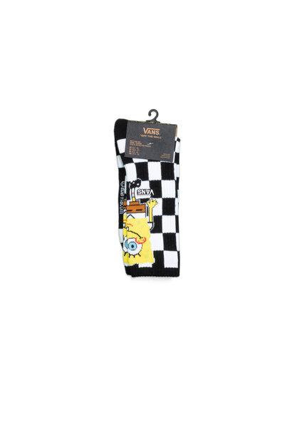 "Spongebob Crew Socks ""Checkerboard"""