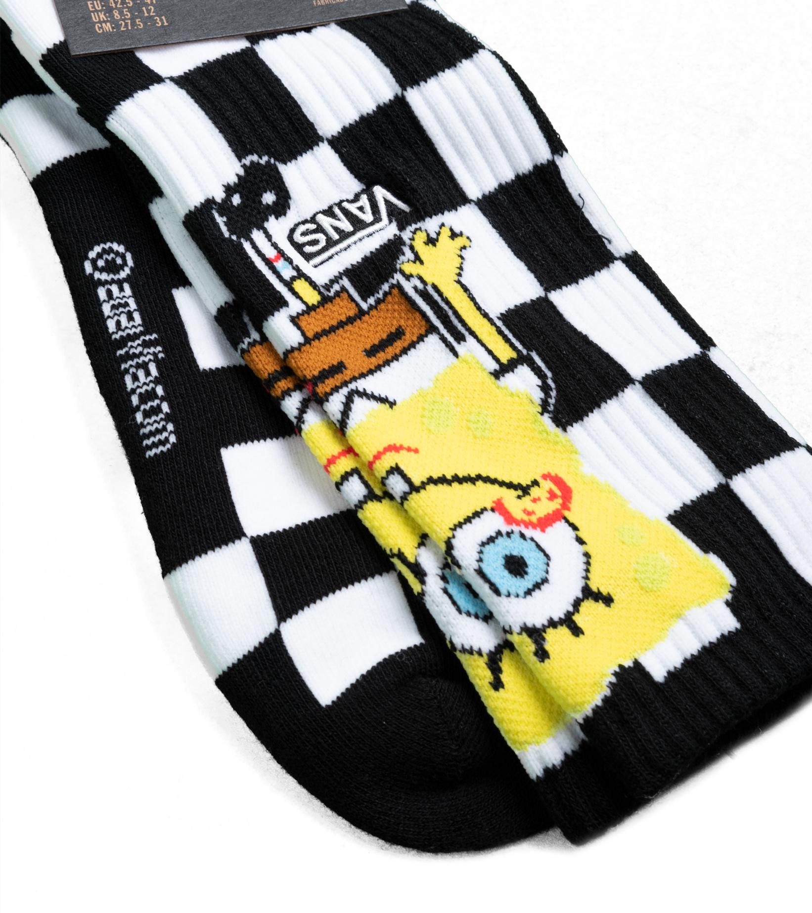 "Spongebob Crew Socks ""Checkerboard""-2"