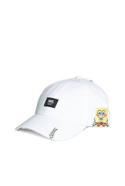 "Spongebob Curved Hat ""White"""