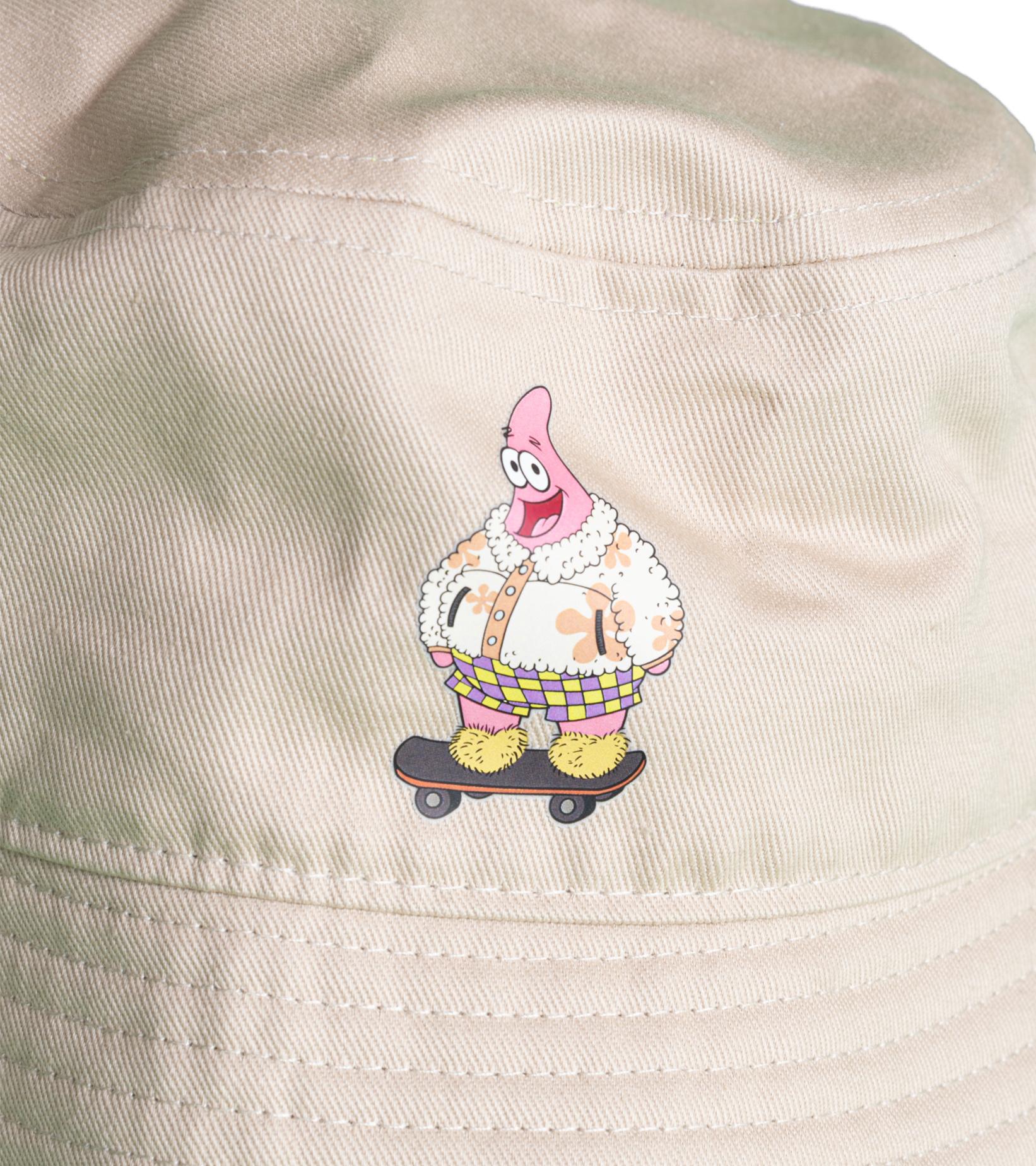 """Spongebob Sandy Liang Buckethat """"Khaki""""-2"""