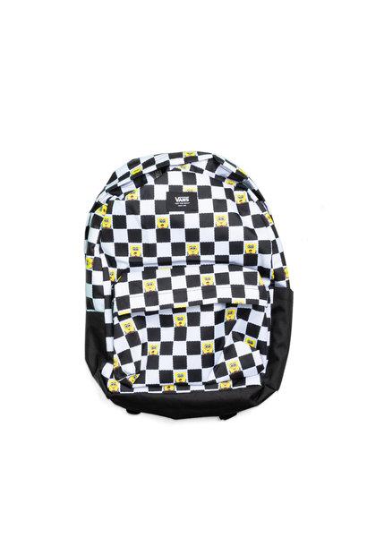 """Spongebob Old Skool Backpack (22L) """"Checkerboard"""""""