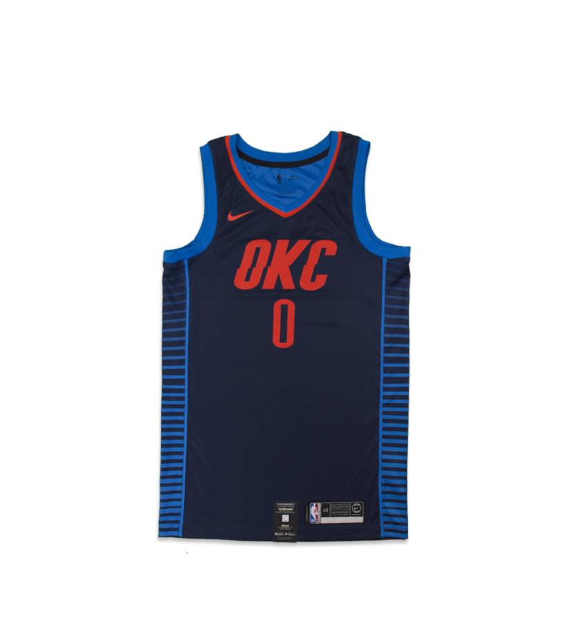 05792fcaec1 Nike Russell Westbrook Statement Edition Swingman Jersey (Oklahoma City  Thunder)