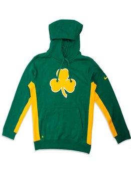 "Nike Boston Celtics Earned Pullover Hoodie ""Clover Green"""