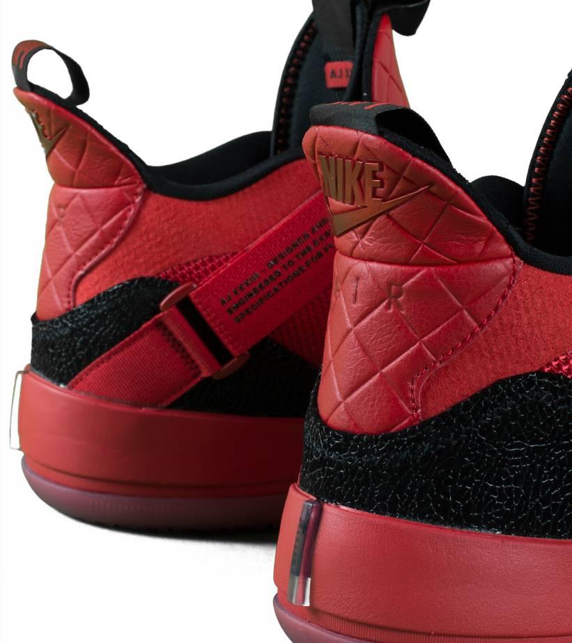 """XXXIII (GS) """"University Red/Black""""-5"""
