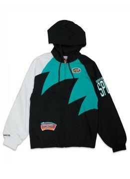 "Mitchell & Ness Shark Tooth SA Spurs Jacket ""Black"""