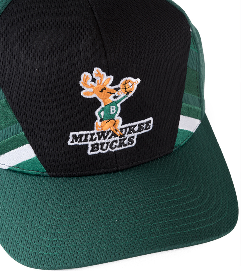 "Milwaukee Bucks DNA 110 Snapback ""Green""-3"