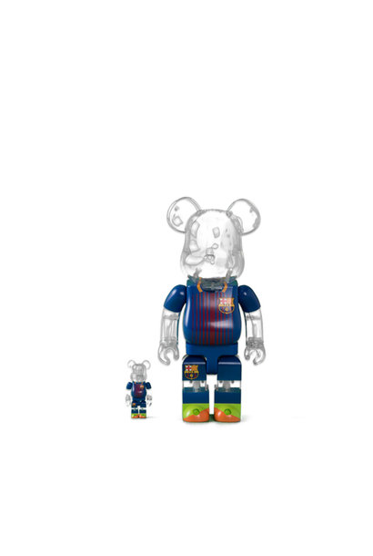 "FC Barcelona 100% & 400% Be@rbrick ""Home"""