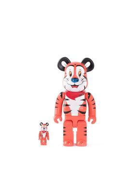 """Medicom Tony The Tiger 100% & 400% Be@rbrick """"Orange"""""""