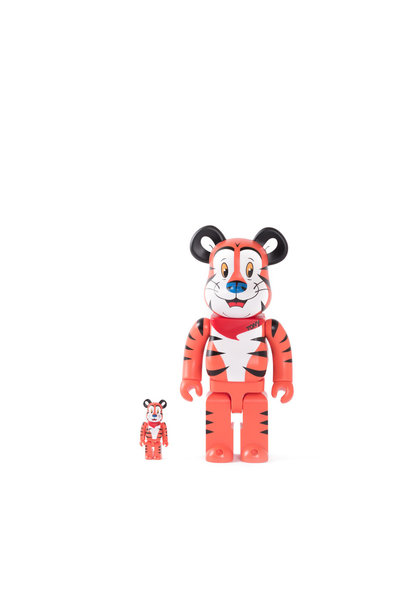 "Tony The Tiger 100% & 400% Be@rbrick ""Orange"""