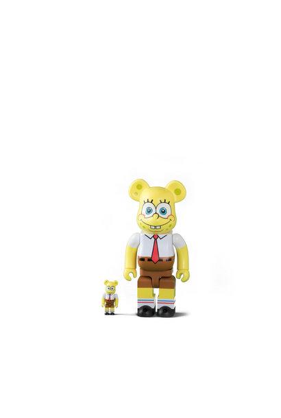 "Spongebob 100% & 400% Be@rbrick ""Yellow """