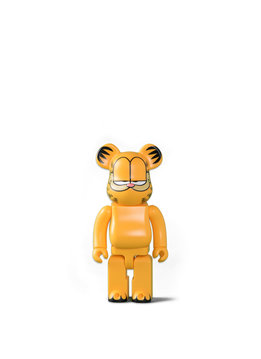 "Medicom Garfield 400% Be@rbrick ""Yellow"""