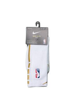 """Nike Elite Socks """"White/Gold"""""""