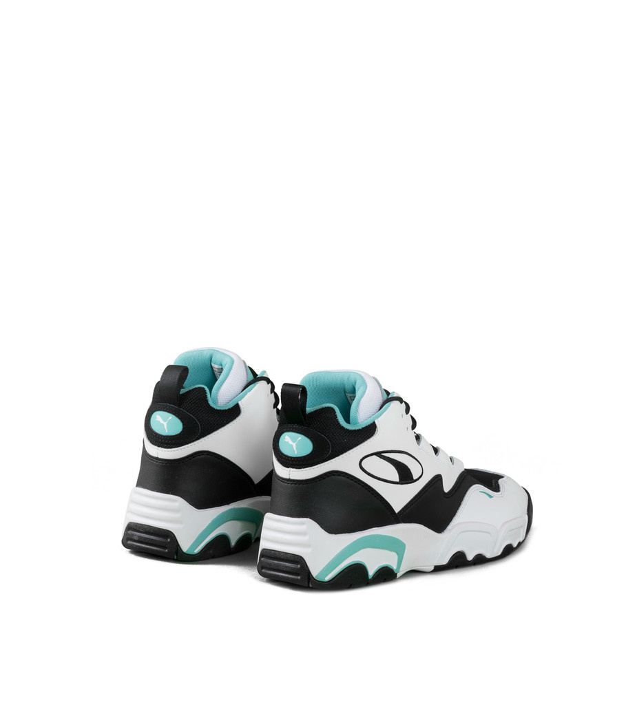 """Source Mid """"White/Teal""""-2"""