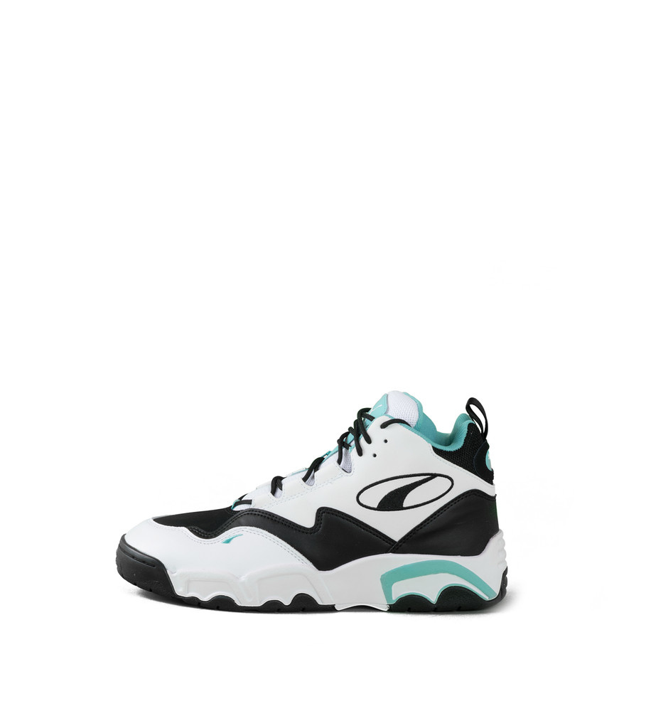 """Source Mid """"White/Teal""""-3"""