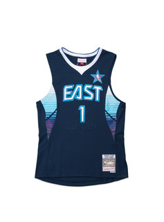 "Mitchell & Ness All Star East '09 A. Iverson Swingman Jersey ""Navy"""