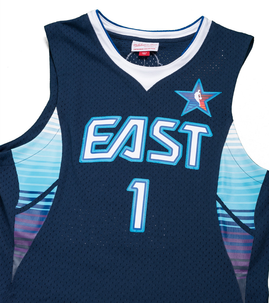 official photos 9b03f 38787 All Star East '09 A. Iverson Swingman Jersey