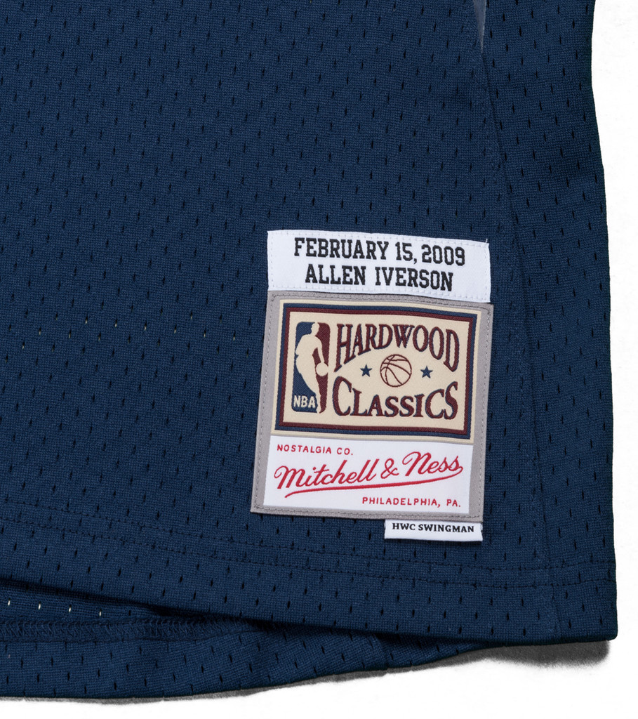 """Mitchell & Ness All Star East '09 A. Iverson Swingman Jersey """"Navy"""""""