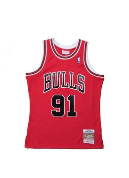 "Mitchell & Ness Chicago Bulls '97-'98 D. Rodman Swingman Jersey ""Red"""