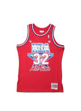 "Mitchell & Ness All Star West '91 E. Johnson Swingman Jersey ""Red"""