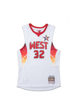 "Mitchell & Ness All Star West '09 S. O'Neal Swingman Jersey ""White"""